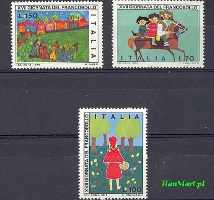 Włochy 1975 Mi 1516-1518 Czyste **