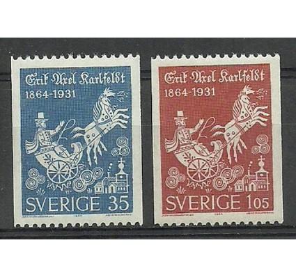 Znaczek Szwecja 1964 Mi 515-516C Czyste **
