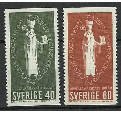 Znaczek Szwecja 1964 Mi 517-518A Czyste **
