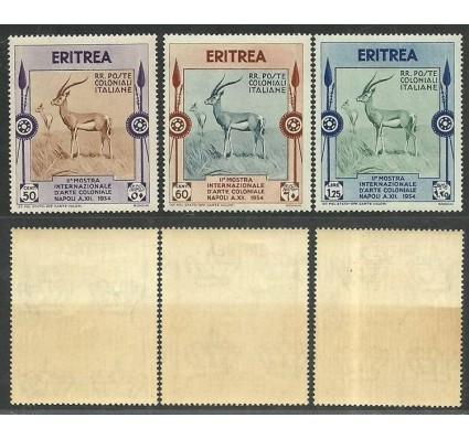 Znaczek Kolonia Włoska 1934 Mi 224-226 Czyste **