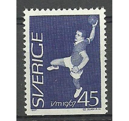 Znaczek Szwecja 1967 Mi 568Du Czyste **