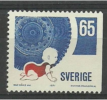 Znaczek Szwecja 1971 Mi 722Dr Czyste **