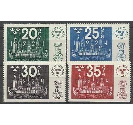 Znaczek Szwecja 1974 Mi 846-849Du Czyste **