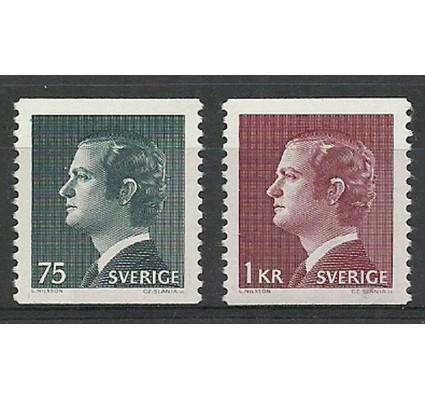 Znaczek Szwecja 1974 Mi 850-851yA Czyste **