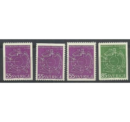Znaczek Szwecja 1971 Mi 713C,Do,Du-714C Czyste **
