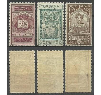 Znaczek Włochy 1921 Mi 141-143 Czyste **