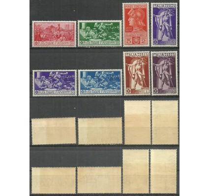 Znaczek Włochy 1930 Mi 337-344 Czyste **