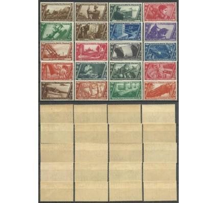 Znaczek Włochy 1932 Mi 415-434 Czyste **