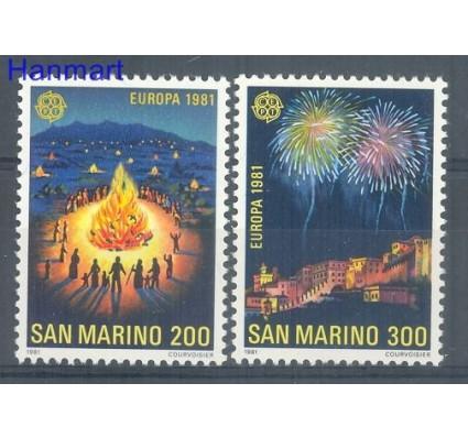 San Marino 1981 Mi 1225-1226 Czyste **