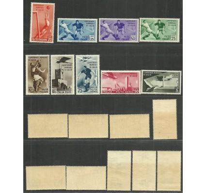 Znaczek Włochy 1934 Mi 479-487 Czyste **