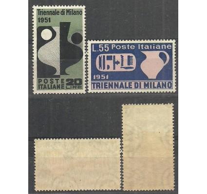 Znaczek Włochy 1951 Mi 839-840 Czyste **