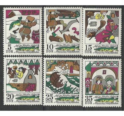 Znaczek NRD / DDR 1973 Mi 1901-1906 Czyste **