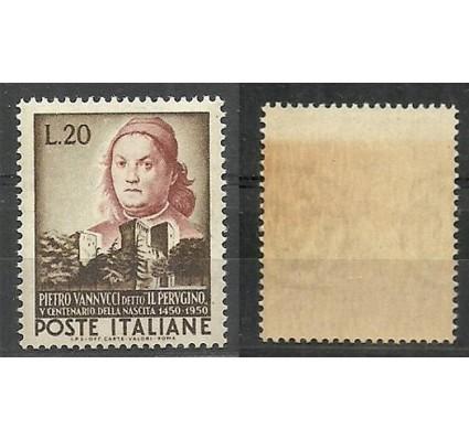 Znaczek Włochy 1951 Mi 841 Czyste **