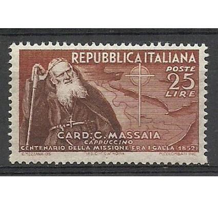 Znaczek Włochy 1952 Mi 874 Czyste **