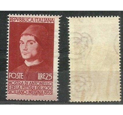 Znaczek Włochy 1953 Mi 880 Czyste **