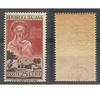 Znaczek Włochy 1953 Mi 892 Czyste **