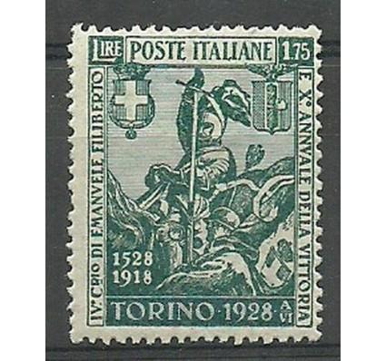 Znaczek Włochy 1928 Mi 291B Czyste **