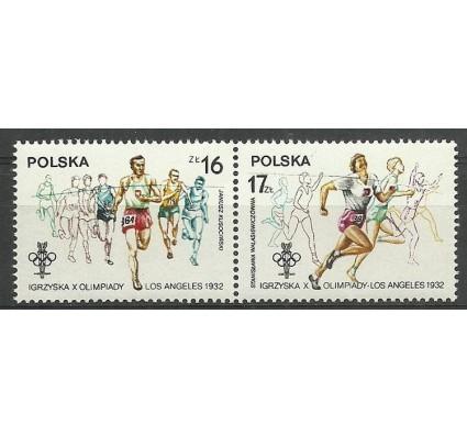 Znaczek Polska 1984 Mi 2916-2917C Fi A2768-2769 Czyste **