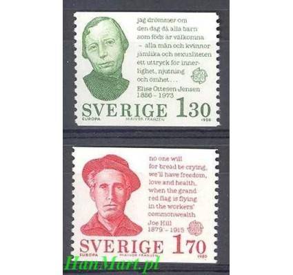 Znaczek Szwecja 1980 Mi 1106-1107 Czyste **