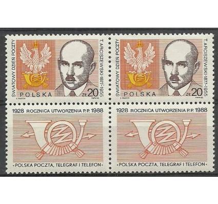 Znaczek Polska 1988 Mi zf 3163 Fi zf 3016 Czyste **