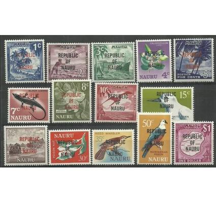 Znaczek Nauru 1968 Mi 69-82 Z podlepką *