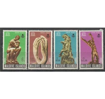 Znaczek Malediwy 1969 Mi 301-304 Czyste **