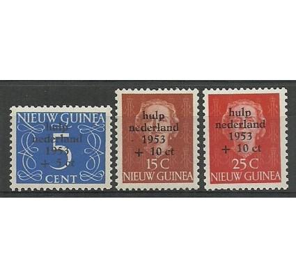 Znaczek Nowa Gwinea Holenderska 1953 Mi 22-24 Czyste **