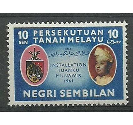 Znaczek Malezja Tanah Melayu 1961 Mi 78 Czyste **