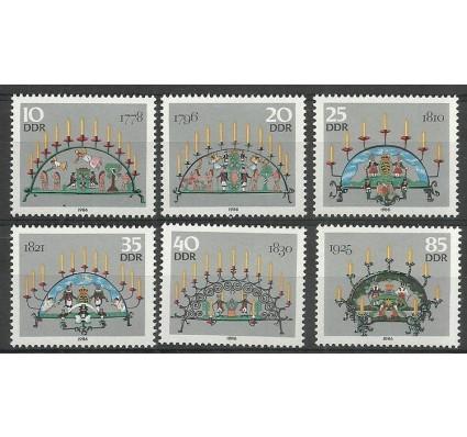 Znaczek NRD / DDR 1986 Mi 3057-3062 Czyste **