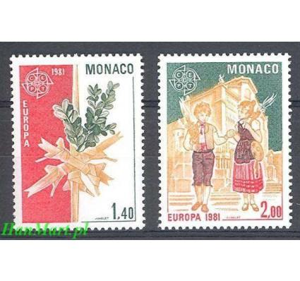 Znaczek Monako 1981 Mi 1473-1474 Czyste **