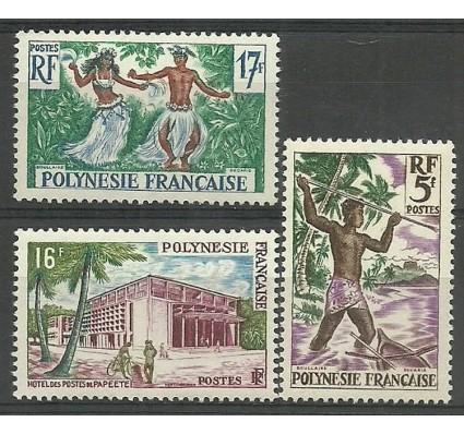 Polinezja Francuska 1960 Mi 16-18 Czyste **