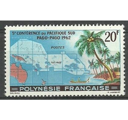 Znaczek Polinezja Francuska 1962 Mi 22 Czyste **
