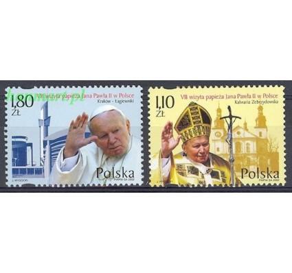 Znaczek Polska 2002 Mi 3984-3985 Fi 3834-3835 Czyste **