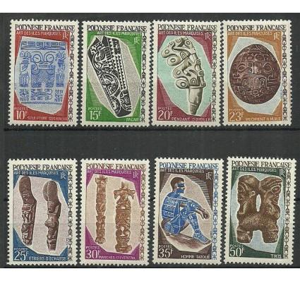 Znaczek Polinezja Francuska 1967 Mi 73-80 Czyste **