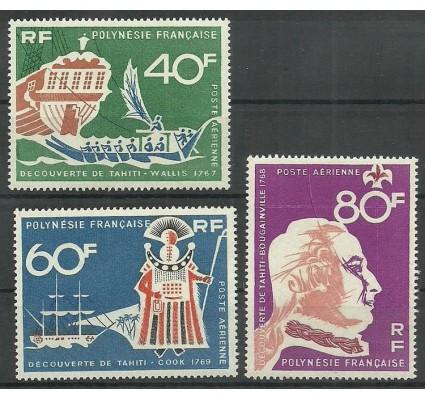 Znaczek Polinezja Francuska 1968 Mi 81-83 Czyste **