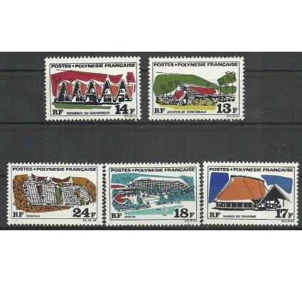 Znaczek Polinezja Francuska 1969 Mi 103-107 Czyste **