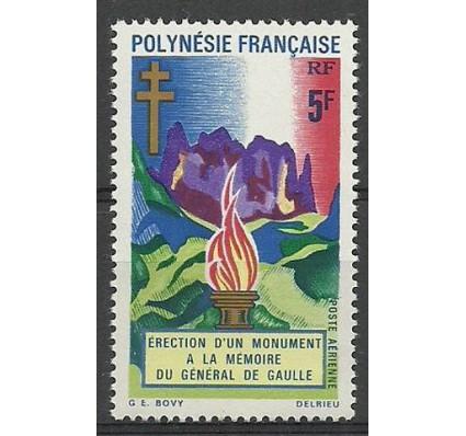 Znaczek Polinezja Francuska 1971 Mi 127 Czyste **