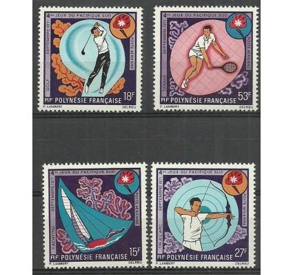 Znaczek Polinezja Francuska 1971 Mi 136-139 Czyste **