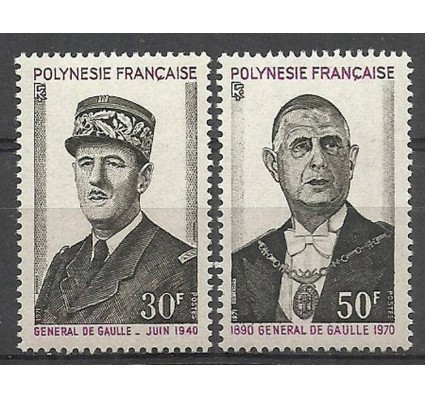 Znaczek Polinezja Francuska 1971 Mi 143-144 Czyste **