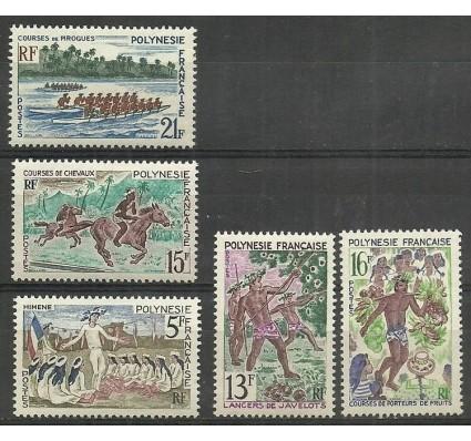 Znaczek Polinezja Francuska 1967 Mi 68-72 Czyste **