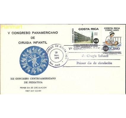 Znaczek Kostaryka 1976 Mi 956-957 FDC