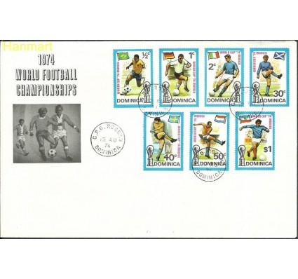 Znaczek Dominika 1974 Mi 397-403 FDC