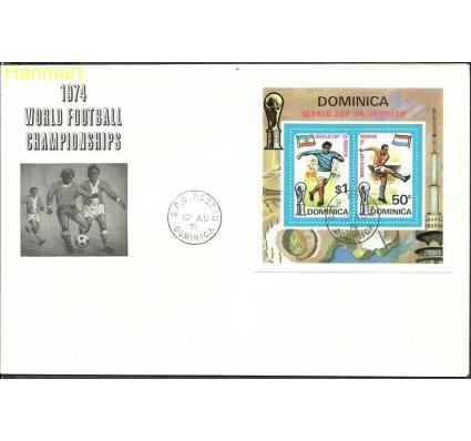 Znaczek Dominika 1974 Mi bl 25 FDC