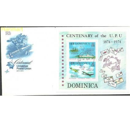Znaczek Dominika 1974 Mi bl 28 FDC