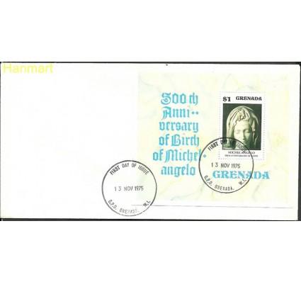 Znaczek Grenada 1975 Mi bl 49 FDC