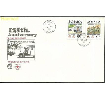 Znaczek Jamajka 1988 Mi 700-701 FDC