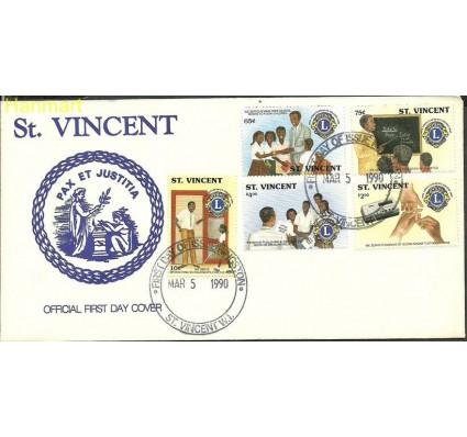 Znaczek St. Vincent 1990 Mi 1498-1502 FDC