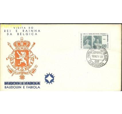 Znaczek Brazylia 1965 Mi 1092 FDC