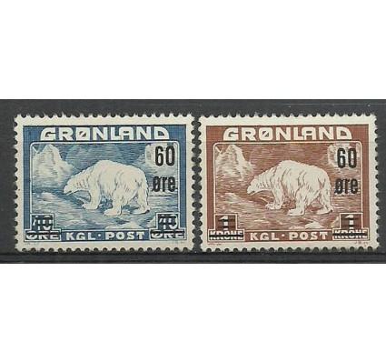 Znaczek Grenlandia 1956 Mi 37-38 Czyste **