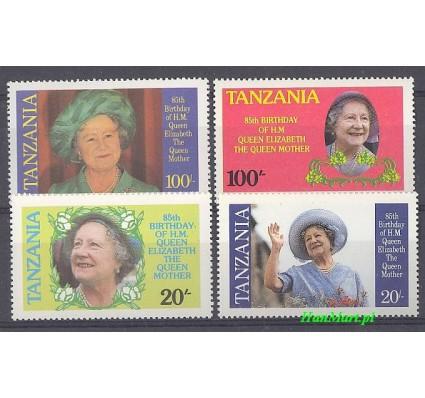 Tanzania 1985 Mi 264-267 Czyste **